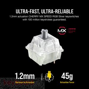 Клавиатура CORSAIR K95 RGB PLATINUM XT Mechanical Gaming Keyboard -CHERRY MX SPEED