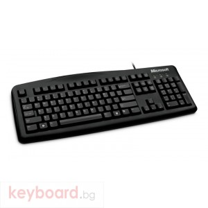 MICROSOFT Microsoft Wired Keyboard 200 USB English Black For Business