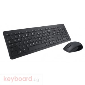 Комплект DELL KM632 Wireless Keyboard and Mouse Black