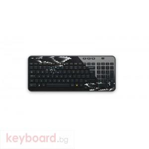 Клавиатура Logitech Wireless Keyboard K360 Fingerprint Flowers FR
