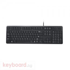 Клавиатура DELL KB212-B, USB Bulgarian