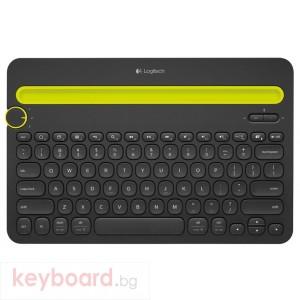 Клавиатура LOGITECH Bluetooth Multi-Device Keyboard K480 (ремаркетиран продукт)
