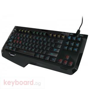 Клавиатура за геймъри LOGITECH G410 RGB компактна механична