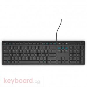 Клавиатура DELL Wired Keyboard KB216 Black (English) - US International