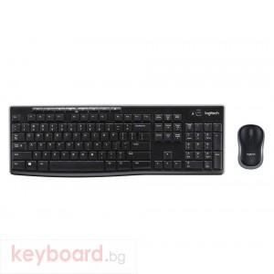 Клавиатура LOGITECH Wireless Combo MK270 - US INT'L - NSEA