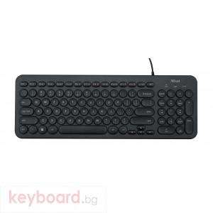 Клавиатура TRUST Muto Silent Keyboard