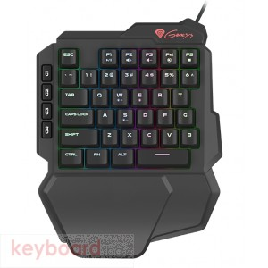 Клавиатура GENESIS Gaming Keyboard Thor 100 Keypad Rgb Backlight