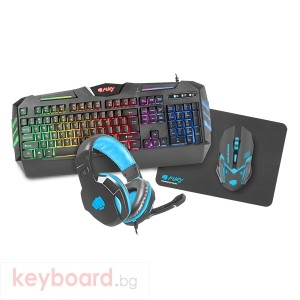 Клавиатура FURY Gaming combo set 4in1