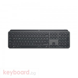 Клавиатура LOGITECH MX Keys Plus Advanced Wireless Illuminated Keyboard with Palm Rest - GRAPHITE - US INT'L