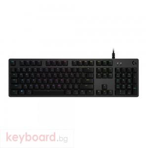 Геймърска клавиатура LOGITECH G512 Carbon RGB Mechanical Gaming Keyboard