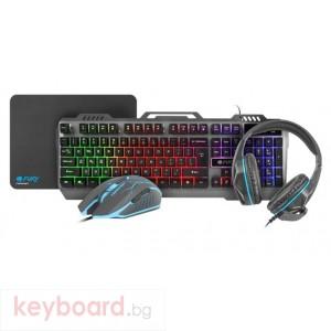 Клавиатура FURY Gaming combo set 4in1