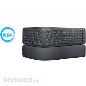 Клавиатура LOGITECH Wireless Keyboard ERGO K860