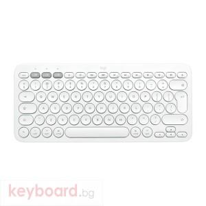 Клавиатура LOGITECH K380 for Mac Multi-Device Bluetooth Keyboard - US Intl - Off-White
