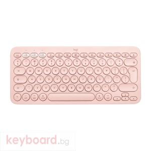Клавиатура LOGITECH K380 for Mac Multi-Device Bluetooth Keyboard - US Intl - Rose