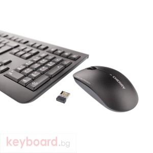 Kомплект безжична клавиатура и мишка CHERRY DW 3000