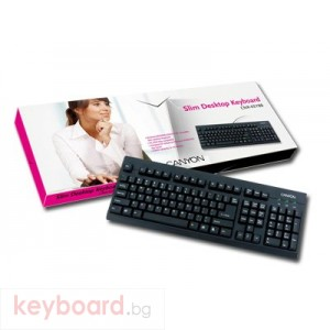 Клавиатура CANYON CNR-KEYB8-BG PS/2