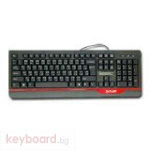 Клавиатура DELUX DLK-6000 USB 1.1, черна