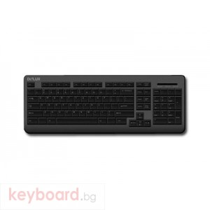 Клавиатура DELUX DLK-3110/PS/2/BLACK/BULG PS/2