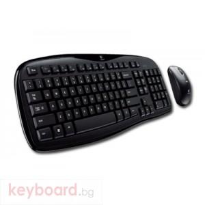 Клавиатура LOGITECH Wireless Desktop MK250 USB/PS/2