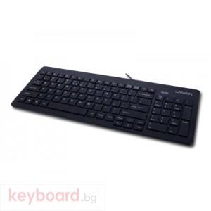 Клавиатура CANYON CNR-KEYB10B-BG USB