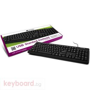 Клавиатура CANYON CNR-KEYB01B-BG USB