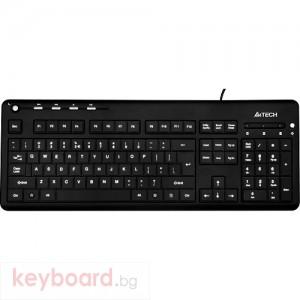 Клавиатура A4 TECH KD-126 USB, LED