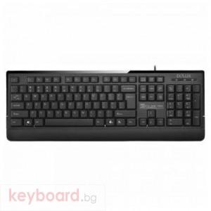 Клавиатура DELUX DLK-6010P PS2 Black