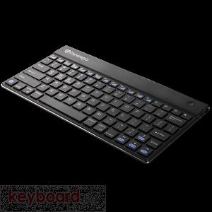 "Клавиатура PRESTIGIO PBKB01US Bluetooth за 7""/8"" таблети, черна"