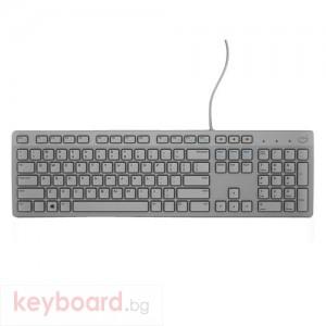 Клавиатура DELL KB216 USB US бяла
