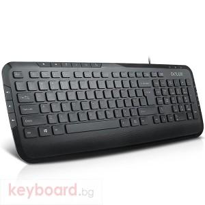 Клавиатура DELUX DLK-KA160G мултимедийна безжична G23UF receiver