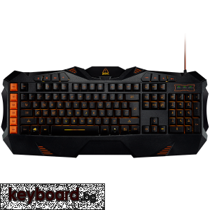 Геймърска клавиатура CANYON Wired multimedia gaming keyboard with lighting effect