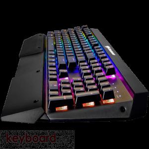 Клавиатура COUGAR ATTACK X3 SPEEDY Silver Cherry MX RGB Backlit Mechanical Gaming Keyboard