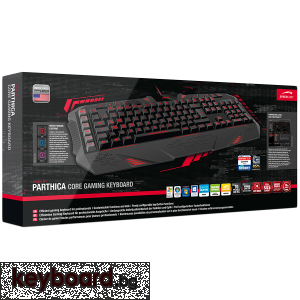 Геймърска клавиатура SPEED-LINK PARTHICA Gaming Keyboard Wired, USB, QWERTY, United States