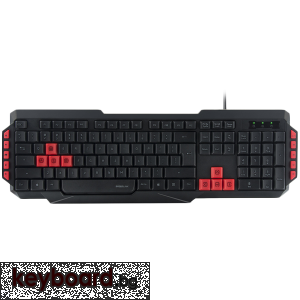 Геймърска клавиатура SPEED-LINK LUDICIUM Gaming Keyboard USB Wired, USB, QWERTY, United States