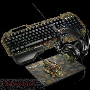 Клавиатура CANYON 4in1 Gaming set