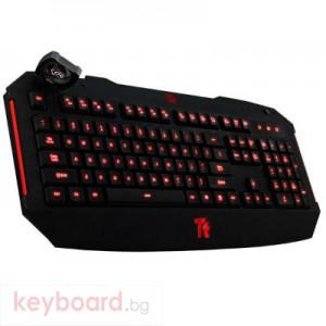 Клавиатура THERMALTAKE TteSPORTS Challenger Illuminated