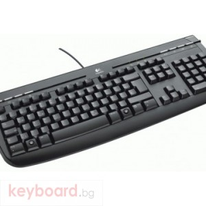 Клавиатура LOGITECH Internet 350 PS2, Black SLOVAK