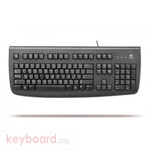 Клавиатура LOGITECH DELUX 250 BLACK ESTONIAN
