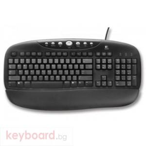 Клавиатура LOGITECH BLACK INTERNET PRO FRENCH