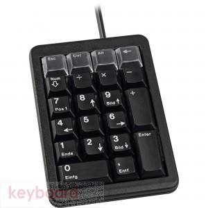 Цифрова клавиатура CHERRY Keypad, Черна
