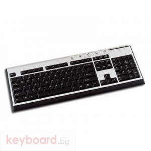 Клавиатура DELUX DLK-5002/PS2/BULG/SB PS/2