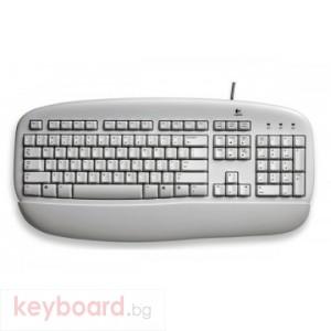 Клавиатура LOGITECH DELUXE SPANISH WHITE