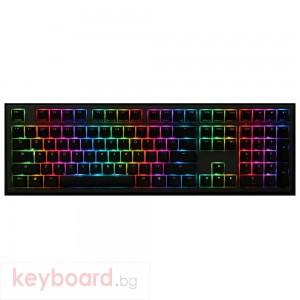 Геймърскa механична клавиатура Ducky Shine 7 Gunmetal Gray RGB, Cherry MX Red