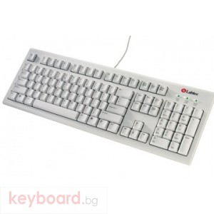 Клавиатура LABTEC WHITE KEYBOARD PLUS DANISH