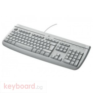 Клавиатура LOGITECH WHITE INTERNET 350 руски език