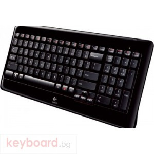 Клавиатура LOGITECH WIRELESS KEYBOARD K340, Италианска