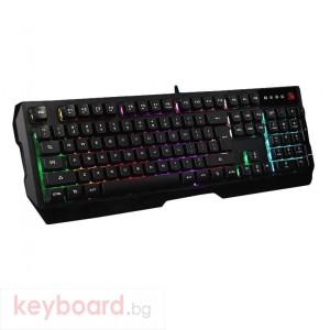 Геймърска клавиатура A4tech Bloody Illuminate Neon Q135, Подсветка, кирилизирана