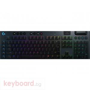 Безжична геймърска механична клавиатура Logitech G915 Lightsync RGB Clicky суичове