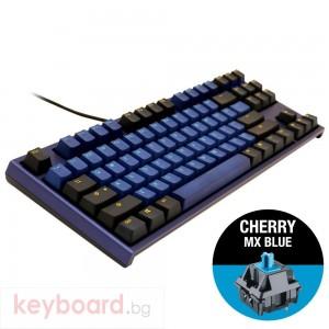 Геймърскa механична клавиатура Ducky One 2 Horizon TKL, Cherry MX Blue