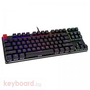 Геймърска механична клавиатура Glorious RGB GMMK TKL Gateron Brown US